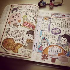 10月31日。 #ほぼ日手帳 #hobonichi #手帳 #絵日記