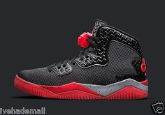 NIKE AIR JORDAN SPIKE LEE FORTY 40 PE FIRE RED CEMENT GREY 807541-002 V 5 RETRO