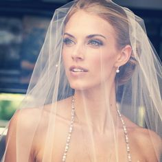 'sierra veil' by juliecarter Celebrity Wedding Hair, Wedding Hair And Makeup, Celebrity Weddings, Hair Makeup, Bridal Make Up, Wedding Make Up, Wedding Day, Wedding Bride, Models Makeup