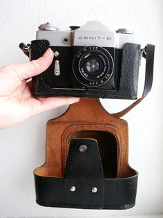 Vintage Soviet Russian Zenith 35mm Photo Camera