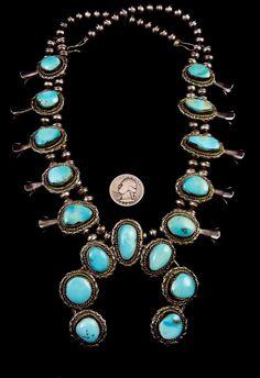 164g Vintage Navajo Sterling Silver Squash by PoohsCornerOTheWorld