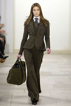 Why won't more women wear suits? suit up!
