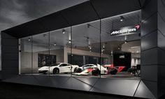 McLaren showroom at Dusseldorf, Germany | Brilliant design