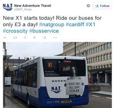 """Sexistische Bus-Werbung in Cardiff: """"Ride me all day"""" Cardiff, Spiegel Online, Local News, New Adventures, Adventure Travel, Funny, Advertising, Funny Parenting, Hilarious"""