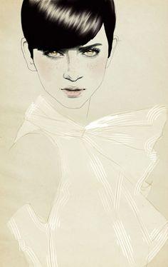 Spanish fashion illustrator Sandra Suy
