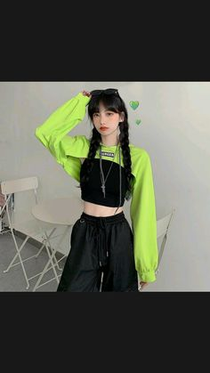 Korean Girl Fashion, Ulzzang Fashion, Korean Street Fashion, Kpop Fashion Outfits, Edgy Outfits, Dance Outfits, Cute Casual Outfits, Cute Fashion, Korean Fashion Styles