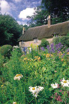 Thomas Hardy's Cottage in Dorset, England