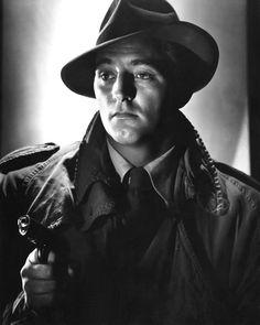 Robert Mitchum #noir