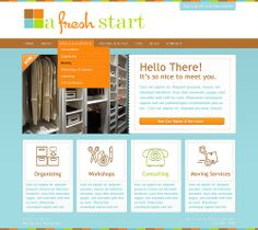 A Fresh Start Home Page.
