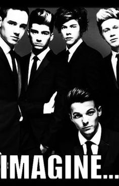 I do have a huge major crush on One Direction I listen to them everyday know everything kind of about all of them and they are all in my room with other people.!<3