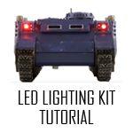 Warhammer 40k LED lighting kit tutorial.