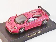 1/64 Kyosho Mini CAR Die cast figure British UK McLaren Mercedes F1 Red Racing