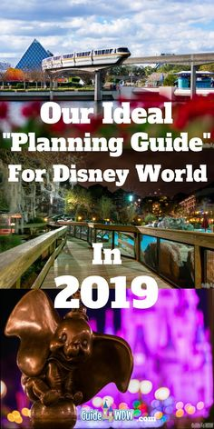 2019 Disney World Planning Guide Every year, we share our top Disney World tips and tricks and compile them in a constantly updated article we title our Disney World Planning Guide. Its a tool for anticipatory and returning #WDW guests and we hope that it gives you something new to look forward to on your 2019 Disney vacation. From Disney Dining tips to WDW resort accommodations, this is our one stop shop for planning for and saving money for and at the #Disney Parks.
