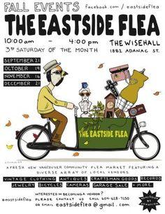 The Eastside Flea Market: The Wise Hall - Sat, 19 Oct 2013