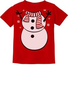 SnowMan Christmas Funny Outfit Boy Girl Toddler Kids T-Shirt Vader Star Wars, Star Wars Rebels, Christmas Snowman, Christmas Humor, Chewbacca Halloween, Funny Snowman, 6 Year Old Boy, Race Car Party, Funny Outfits