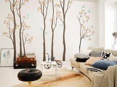 #nursery #DIY #longtree #mint #livingroom #walldecal #decal