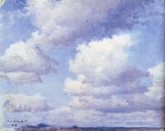 Cloud Study, 1892 by Eero Järnefelt on Curiator, the world's biggest collaborative art collection. Landscape Pictures, Landscape Paintings, Landscapes, Digital Museum, Collaborative Art, Oil Painting Reproductions, Art Studies, Study, Clouds