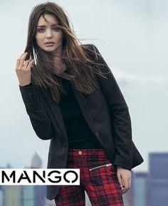 Miranda Kerr for Mango Fall Winter 2013 Campaign