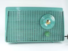 Westinghouse AM Radio in Teal Aqua Mid Century by ChromaticWit, $49.99