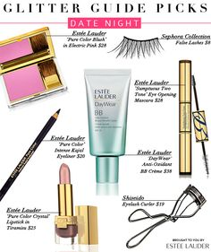 Don't use false lashes or lash curler but LOVE Estee Lauder products <3