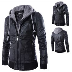 Urban Knight Jacket- vegan leather and badass! On sale for $60 (usually $130). Someone buy this for me!