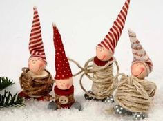 Hand made elves