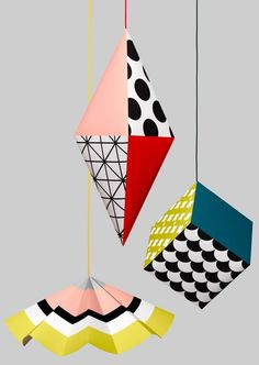 Patterned mobiles