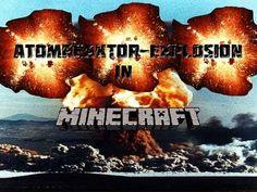 Atomreaktor-Explosion in Minecraft