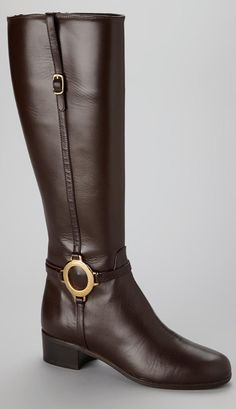 7bd7a34fe03a Amalfi Brown Leather Modena Riding Boot♥✤   Keep Smiling   BeStayBeautiful  Bottes, Cuir