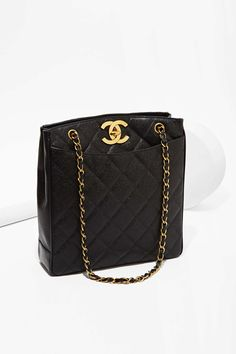Vintage Chanel Caviar Leather Tote