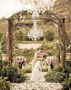 This is so romantic and beautiful and simple. It makes for some fantastic photos with a vintage feel.