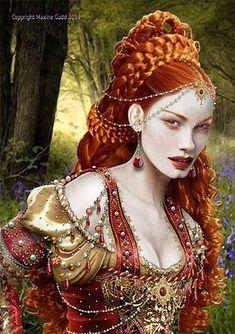 Maxine Gadd fairy art steampunk art fantasy art witches divas