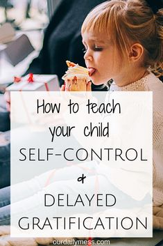 Does your child have no patience? Use these positive parenting strategies to teach your child self-control and delayed gratification. Parenting How to Teach Your Child Self-Control & Delayed Gratification Gentle Parenting, Parenting Advice, Kids And Parenting, Practical Parenting, Natural Parenting, Parenting Styles, Toddler Behavior, Toddler Discipline, Positive Discipline