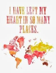 Image result for travel quotes-heart