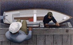 Painting by Alex Colville