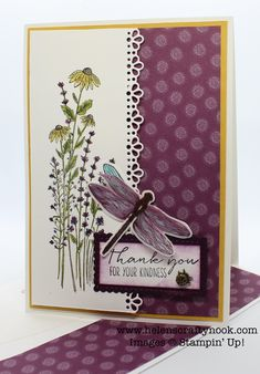 Hand Made Greeting Cards, Greeting Cards Handmade, Butterfly Cards, Flower Cards, Stampin Up Anleitung, Paper Cards, Cards Diy, Stampin Up Catalog, Stamping Up Cards