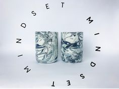 Handmade porcelain glasses with marbling effect Craft Art, Dinnerware, Mindset, Porcelain, Clay, Pottery, Ceramics, Photo And Video, Glasses