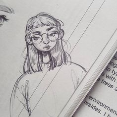 You know when you doodle something on your desk and it looks good from your angle and then you look at it from the top and it's all wonky? Yep, this drawing * * * drawing sketches Sara Tepes Drawing Tips, Drawing Sketches, Drawing Drawing, Sketching, Pretty Art, Cute Art, Arte Sketchbook, Art Plastique, Pencil Art