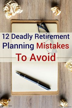 It's a retirement planning mistake to base when you retire off of your age rather than your income. Learn how to avoid 11 other common retirement planning mistakes individuals make when thinking about their golden years! Retirement Advice, Retirement Cards, Saving For Retirement, Retirement Parties, Early Retirement, Retirement Planning, Financial Planning, Retirement Savings, Retirement Decorations