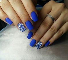 Nail Time, Blue Nails, Pedi, Nails Inspiration, Hair Makeup, Make Up, Nail Art, Beautiful, Nail Ideas