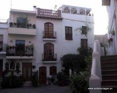 """#Granada- #Lanjarón - Ruta de las Alpujarras - 36º 55' 1"""" -3º 28' 59"""" / 36.916944, -3.483056 De Almería a Granada, parada indiscutible es Lanjarón (la fotografía es una plaza típica de la localidad: la de Santa Ana). Aunque sus aguas eran conocidas desde muy antiguo, fue en 1774 cuando un enfermo de anemia se curó milagrosamente al beberlas."""