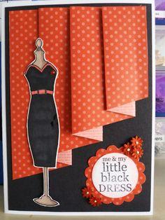Woodware little black dress