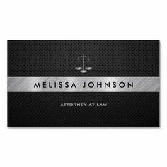 Justice scale attorney black and white business card pinterest professional elegant modern black and gold attorney business card this great business card design is available for customization all text style colors reheart Images