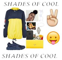 """""""Coolerade🍼✌😛"""" by queenval26 on Polyvore featuring Topshop, NIKE, LifeProof, Prada, Jack Vartanian and Rolex"""