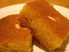 Αρτοποιεια & Συνταγες: Μαρτίου 2013 Greek Sweets, Greek Desserts, Greek Recipes, Sweets Recipes, Baking Recipes, Cake Recipes, Greek Cake, Cypriot Food, Low Calorie Cake