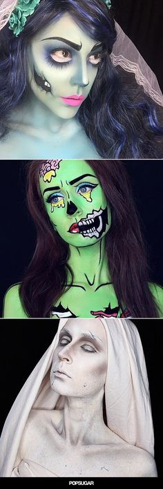 Pin for Later: 36 Mind-Blowing Ways to Use Body Paint This Halloween