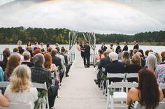 Huntsville State Park wedding at Raven Lodge