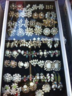 Flea Market finds - vintage jewelry