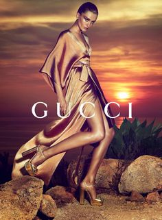 Andreea Diaconu by Mert & Marcus for Gucci