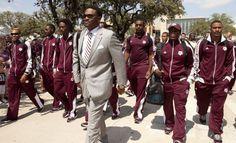 Coach Sumlin! Love him & his swag!!